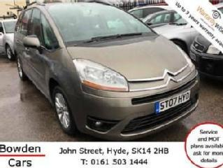 Citroen Grand C4 Picasso 1.8i 16v VTR+ * Bank Holiday SALE Reduced £200