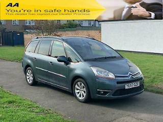 Citroen Grand C4 Picasso 2.0i 16v EGS Exclusive, New Clutch & Timing Belt, P Aid