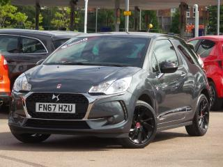 DS DS 3 1.2 PURETECH PERFORMANCE LINE 3DR 3 DOOR HATCHBACK, 7184 miles, £9795