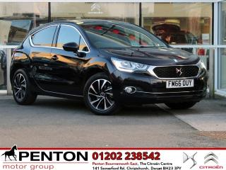 DS DS 4 1.6 BlueHDi Elegance s/s 5dr £Zero TAX LOW MILEAGE! 2017, 27000 miles, £8990