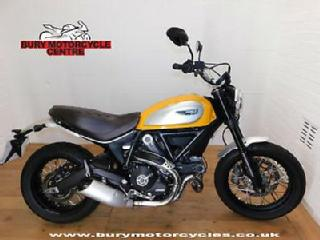 Ducati Scrambler Classic. 2017. 1 Owner. Only 139 Miles!