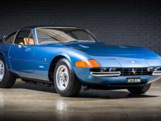 Ferrari Daytona UK Supplied Car 1973, 34923 miles, £549990
