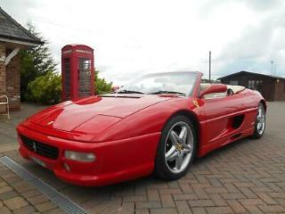 Ferrari F355 Spider 1999 Convertible/Cabriolet Manual Red