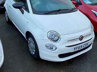 Fiat 500 1.2 69bhp s/s 2016MY POP,WHITE,36K,HIST,LOW INS/TAX