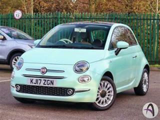 Fiat 500 1.2 Lounge 3dr Nav Leather