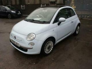 FIAT 500 1.2 LOUNGE ONLY 19K MILES, 2 OWNERS, PAN ROOF, BLUE AND ME, AIR CON