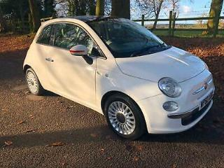 Fiat 500 1.2 LOUNGE only £30 a year to tax
