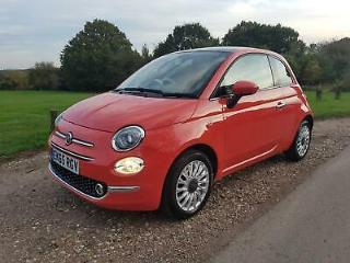 Fiat 500 1.2 LOUNGE, Panoramic Roof, 1 Owner, ULEZ Compliant, Great Starter Car