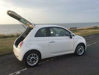 Fiat 500 1.2 s/s SPORT,ONE PREVIOUS OWNER 55000 Miles,£30 road tax!