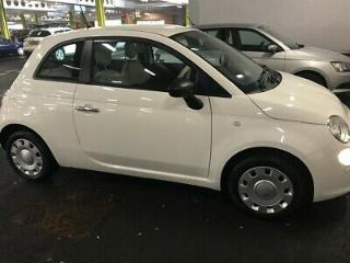 Fiat 500 1.2pop white 3 door hatchback low mileage