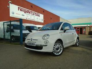 Fiat 500 1.4 LOUNGE 70k FSH CAMBELT 62k P/AID P/ROOF B/TOOTH A/C CD *SPORT