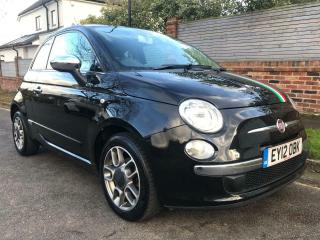 FIAT 500 LOUNGE 2012 only 42000 miles service history Panoramic roof