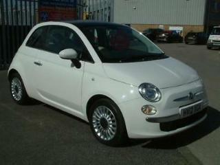 FIAT 500 LOUNGE 2012 Petrol Manual in White