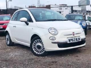 Fiat 500 LOUNGE / PETROL / MANUAL / LOW WARRANTED MILEAGE / PANORAMIC ROOF /