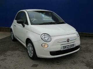 FIAT 500 Opt Start Stop Pop 2012 Petrol Manual in White