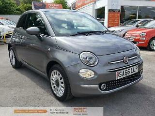 FIAT 500 Start Stop Lounge Grey Manual Petrol, 2016