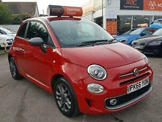 FIAT 500 Start Stop S Red Manual Petrol, 2016