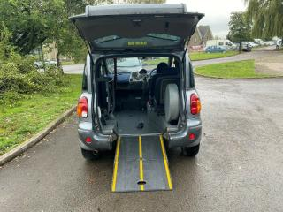 FIAT MULTIPLA UPFRONT WHEELCHAIR ACCESSIBLE mobility disabled ramp wav disabilit