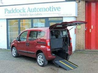 Fiat Qubo 1.3 Auto Wheelchair Up Front Automatic Wheelchair Adapted Vehicle