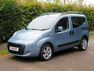 Fiat Qubo 1.3TD Dualogic Dynamic auto WHEELCHAIR / MOBILITY SCOOTER CONVERSION