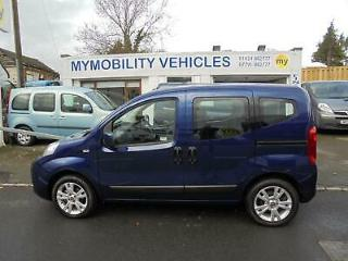 Fiat Qubo AUTOMATIC 1.3 Diesel Wheelchair Accessible WAV. Only 5000 Miles