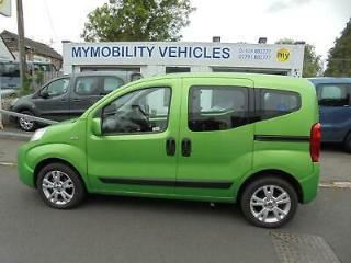 Fiat Qubo PETROL Wheelchair Accessible WAV 3 Seat. ONLY 18000 Miles