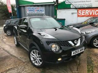 FINANCE £138 PR MONTH 2015 NISSAN JUKE ACENTA XTRONIC CVT AUTOMATIC 10960 MILES