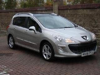FINANCE AVAILABLE!2008 PEUGEOT 308 SW 1.6 HDi FAP SPORT 5DR ESTATE, 6 SPEED