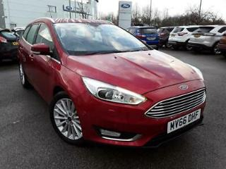 FORD 1.5 TDCI 120PS TITANIUM X 5DR CANDY RED