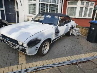Ford Capri 1.6+52k Miles 1 owner+starts and drives