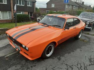Ford Capri 3.5 v8 Wide body X Pack, STUNNING Show car, The BEAST ! Resto mod