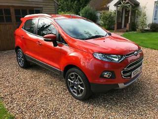 Ford EcoSport 1.5 Ti VCT 112ps X Pack Titanium X Pack
