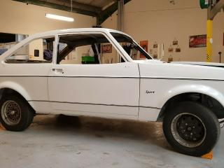 Ford Escort 1600 Sport 1980, 2 door Rolling Shell