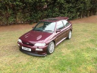 Ford Escort 4X4 RS Cosworth Lux Monte Carlo Limited edition, 1994 M reg