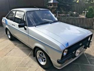 FORD ESCORT HARRIER, MK2,1980, IN STRATO SILVER AMAZING RARE CLASSIC 1.6 HARRIER