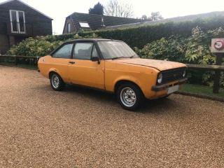 Ford Escort Mexico Mk2 Barn Find Dry Stored since 1993 Very Original