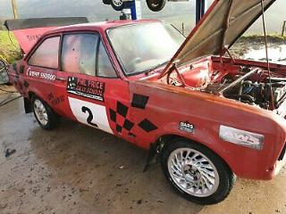 ford escort mk2 race rally project spares or repiar