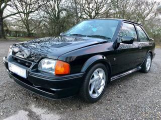 FORD ESCORT RS TURBO 1991 H REG MK4 EFI BLACK POSS PX/SWAP READ DESCRIPTION