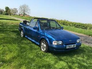 Ford Escort xr3i convertible £3995 px welcome
