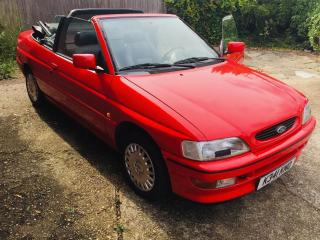 Ford Escort XR3i convertible, ONE OWNER, VERY LOW MILEAGE, LHD *PRICE REDUCED