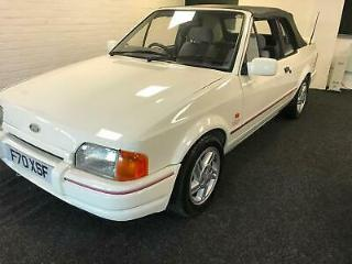 Ford Escort XR3i convertible STUNNING very scarce car