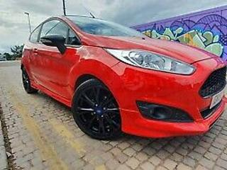 ford fiesta 1 0 ecoboost zetec s red 2015