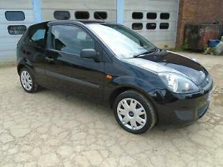 FORD FIESTA 1.4 TD STYLE CLIMATE 3DR BLACK £30 TAX TRADE SALE LONG MOT