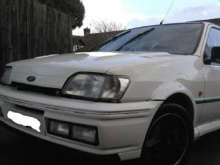 Ford Fiesta RS Turbo 1990