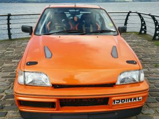 Ford fiesta rs turbo 1991 Road legal track car orange modified
