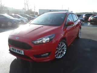 Ford Focus 1.0 ECOBOOST 140PS ST LINE NAVIGATION 5DR 5 DOOR HATCHBACK, 3173 miles, £12995