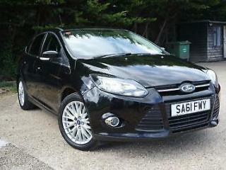 FORD FOCUS 1.6 Ti VCT 125 Zetec Black Manual Petrol, 2011