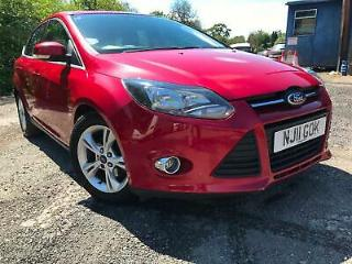 Ford Focus 1.6TDCi Zetec 5 Door Low Tax Lovely Condition Service Service History