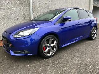 FORD FOCUS T EcoBoost 250 ST 2 2014 Petrol Manual in Blue