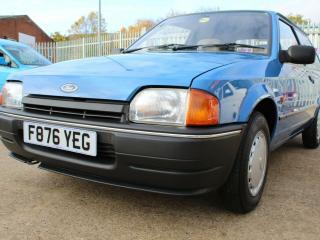 Ford Mk4 Escort 1.4 Petrol Van Classic Car Very Rare Outstanding Condition